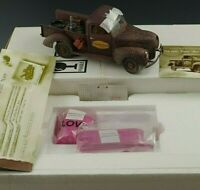 FRANKLIN MINT 1940 FORD PICKUP OLD RELIABLE DIECAST 1/24 SCALE MIB