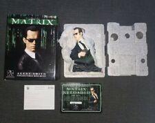 Matrix Movie Agent Smith Bust Gentle Giant Display Statue with Original box!