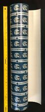 "NFL DALLAS  COWBOYS Gift WRAP PAPER Vintage 80's (Sold by the yard & 30"" wide)"