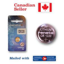CR1220 NEW! Renata Lithium 3V Coin Button Battery