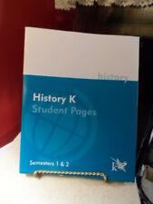 K12 Book Homeschool History K Student Pages Semesters 1 & 2 manuf. item # 23001