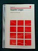Vintage Apple Reference Manual Logo Writer Turtle Graphics Computer Logic 1982