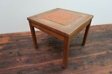 """Vintage Square Wooden End Side Table 18"""" x 18"""" x 15"""""""