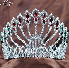Amazing Pageant Tiara Crown Austrian Rhinestone Wedding Party Hair Accessories