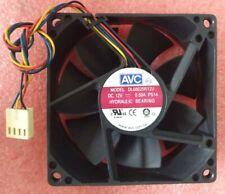 DL08025R12U AVC 80*80*25mm 4pin 12V 0.5A Cooling CPU fan