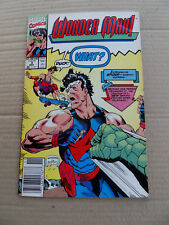 Wonder Man 3 . SIGNED . Marvel 1991 . VF