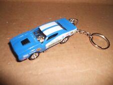 1971 Dodge Charger Nhra Hawaiian Diecast Model Car Keychain New Blue W White