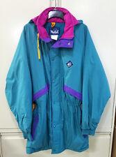 Vintage WOOLRICH Neon Sigmet Gear Men's Jacket SKI Coat LARGE Gathered Waist
