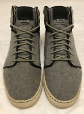 "Vans ""OTW Collection"" Alomar Rock Gray Wool Men's 12 High Top Skate Shoe"