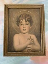 Young St. John the Baptist Framed Print by C. Bosseron Chambers E.G. Co. (D9 27)