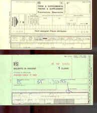 H6  BIGLIETTI FERROVIE DELLO STATO ANNO 1981 - TRATTA FIRENZE - MESTRE