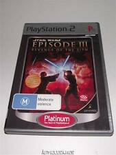 Star Wars Episode III Revenge of Sith PS2 (Platinum) PAL *No Manual*