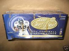 1999 Leaf Certified NFL Football Hobby Tradin Card Box