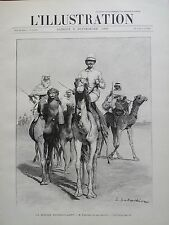 L' ILLUSTRATION 1900 N 3002 LA MISSION FOUREAU-LAMY  ET SON ESCORTE AU SAHARA