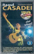 Raoul Casadei dal Vivo vol.3 (1998) Musicassetta NUOVA Romagna capitale La rossa