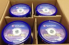 200 Verbatim DVD+R DL 8.5GB 8X Logo Spindle 97000 Disc ID-MKM003 Xbox 360 Comp