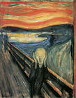 The Scream 1893  Edvard Munch Fine Art Painting Poster Repro FREE S/H