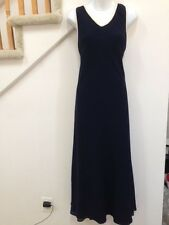 DW3 For David Warren Evening  Dress Size 10, Fully Lined, Color: Navy Blue