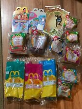 Mcdonalds Happy Meal Dinosaur 2 Hand Puppets, 3 dino-motion, plus 6 other toys