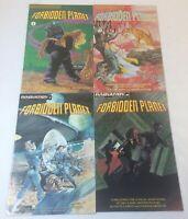 1992 Innovation FORBIDDEN PLANET movie comics #1 2 3 4 ~ FULL SET
