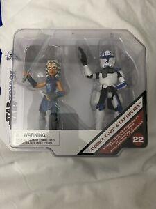 Star Wars Ahsoka Tano & Captain Rex Toybox Figure Set