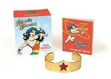 Wonder Woman Tiara Bracelet and Illustrated Book by Matthew Manning (Mixed media product, 2015)