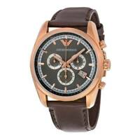 NEW EMPORIO ARMANI AR6005 MENS ROSE GOLD WATCH - 2 YEARS WARRANTY - CERTIFICATE