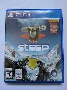 Steep PlayStation 4 PS4 Great Condition Tested and Works