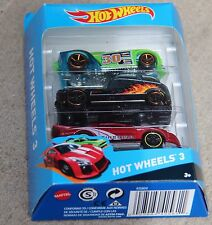 Hot Wheels 3 by Mattel Bran New, Unopened