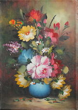 Floral still life oil painting flowers  FREE SHIPPING