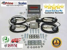 Floor Scale Kit Livestock Stock Kit Build Your Own Scale Load Cells 2,500 lb