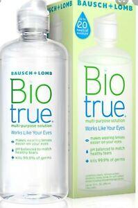 4 x 50ml bottles Bausch+Lomb Biotrue Multipurpose Solution, Soft Contact Lens