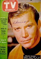 TV Guide 1968 Star Trek Captain Kirk International TV Weekly New Zealand COA