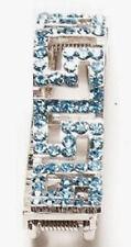 "Hang Accessories Key Holder Turquoise Blue Bling Holds Keys Inside Purse 2 1/2"""