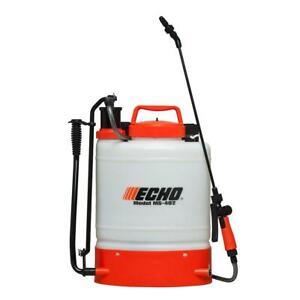 ECHO Back Pack Sprayer Internal Piston-Pump Handle Padded Straps Belt 4-Gal.