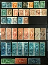 Lot of United States Revenue Stamps Used