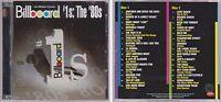 Billboard #1's Hits of the 80s Various Artists 2004 Rhino 2 CD Set Mick Jagger