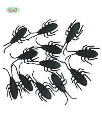 Käfer Insekten 7 cm Kakerlaken x 12 Gruselig Halloween-dekoration Kostüm