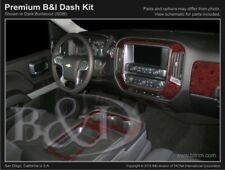 Dash Trim Kit for CHEVROLET SILVERADO 15 16 17 carbon fiber wood aluminum