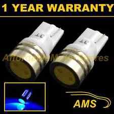 2X W5W T10 Xeno 501 Led Blu ad Alta Potenza Luci Laterali SMD Fanali SL100704