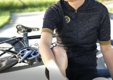 Women's short sleeve cycling jersey eco-friendly Available In Sizes S - XL