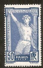 N° 186 Jeux Olympiques 1924,neuf sans trace de charnière, très beau,cote 115€