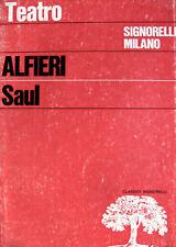 VITTORIO ALFIERI SAUL A CURA DI ROSOLINO GUASTALLA SIGNORELLI 1983