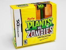 PLANTS vs. ZOMBIES 🧟 LIMITED EDITION UGLY PEASHOOTER (Nintendo DS) SEALED RARE!