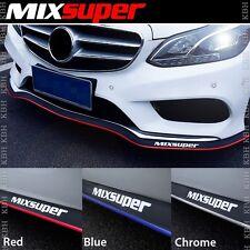 MIXSUPER Rubber Front Bumper Lip Splitter Chin Spoiler Skirt Body Protector EZ