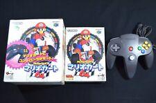 Complete Mario Kart 64 BOX Japanese Nintendo 64 N64 CIB NTSC-J with Controller