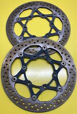 2017-2018 Suzuki Gsx S 1000 Abs Front Left Right Brake Rotor Discs only 100 Mile