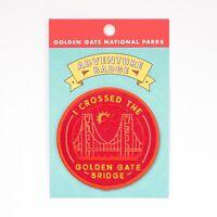 I Crossed the Golden Gate Bridge Souvenir Patch San Francisco National Park