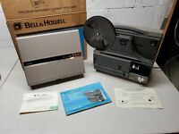 BELL & HOWELL Multi Motion Movie Projector 8mm Super 8 Model 1623Z in Box Manual