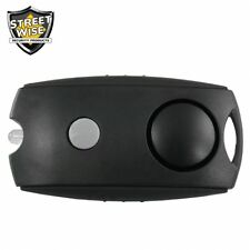 Personal Hand Held Emergency Panic Alert Keychain Safety Alarm and Flashlight
